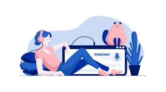 podcast wordpress website