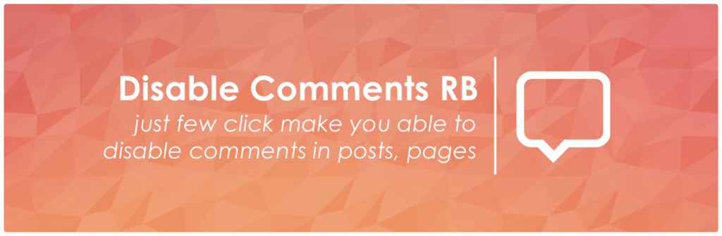 wordpress disable comments rb plugin