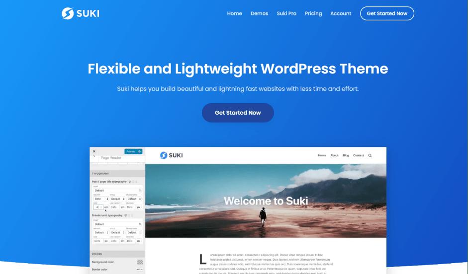 suki wordpress theme